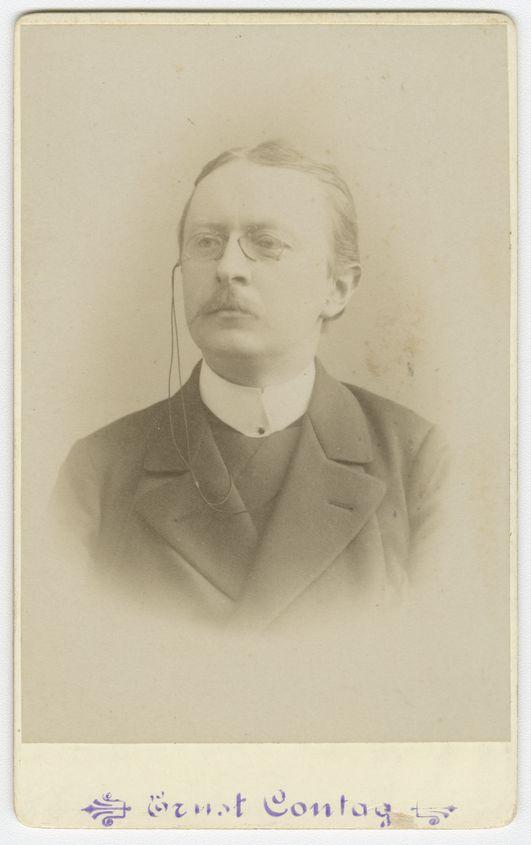 Portrait von Berthold Otto